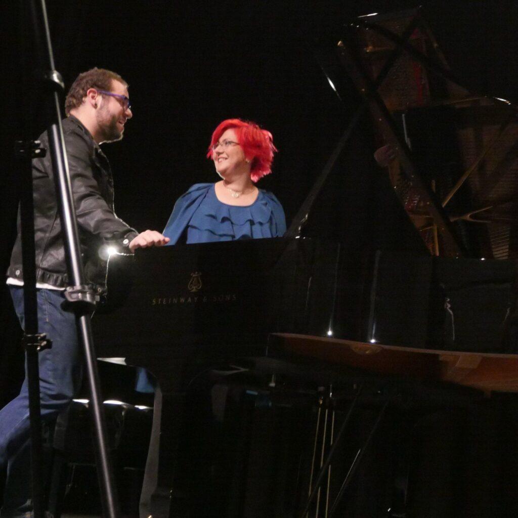 Nick Norton and Nadia Shpachenko